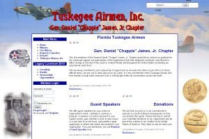 "Gen. Daniel E. ""Chappie"" James Chapter Tuskegee Airmen"