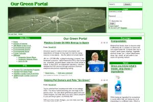 Our Green Portal